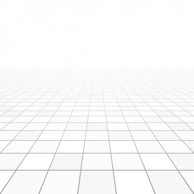 Floor tiles perspective. Vector. stock vector