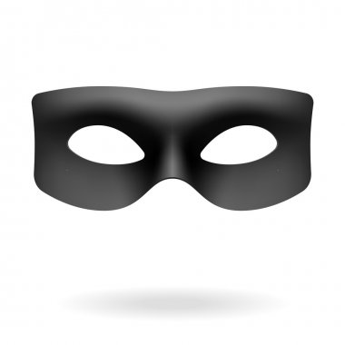 Zorro mask. Vector. stock vector