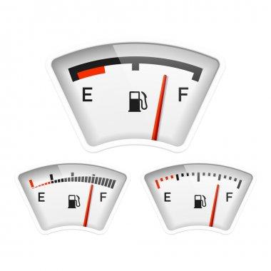 Fuel gauge. Vector. clip art vector