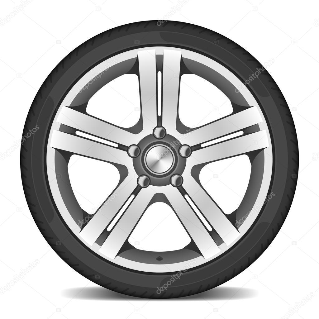 Tekerlek çizimi — Stok Vektör © Alhovik #69935383