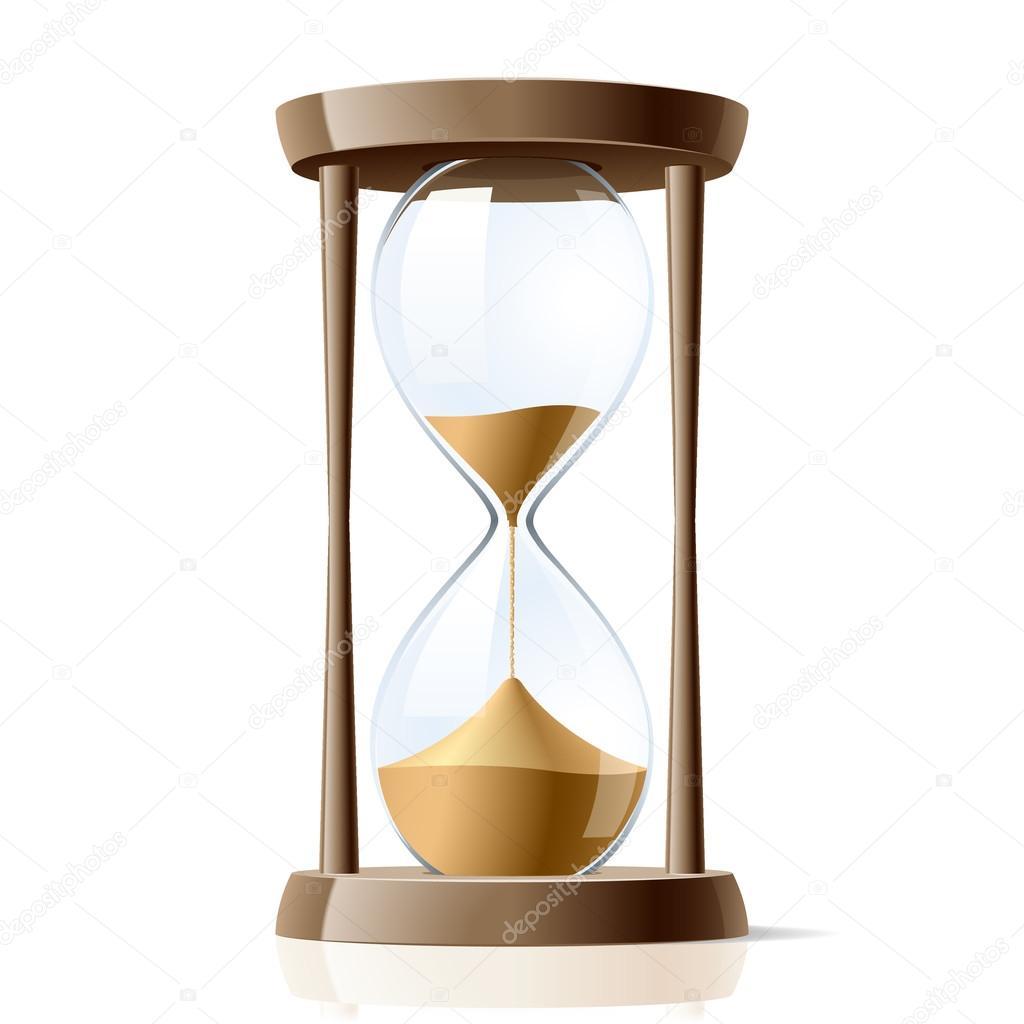 Ilustraci n de reloj de arena vector de stock alhovik for Fotos de reloj de arena