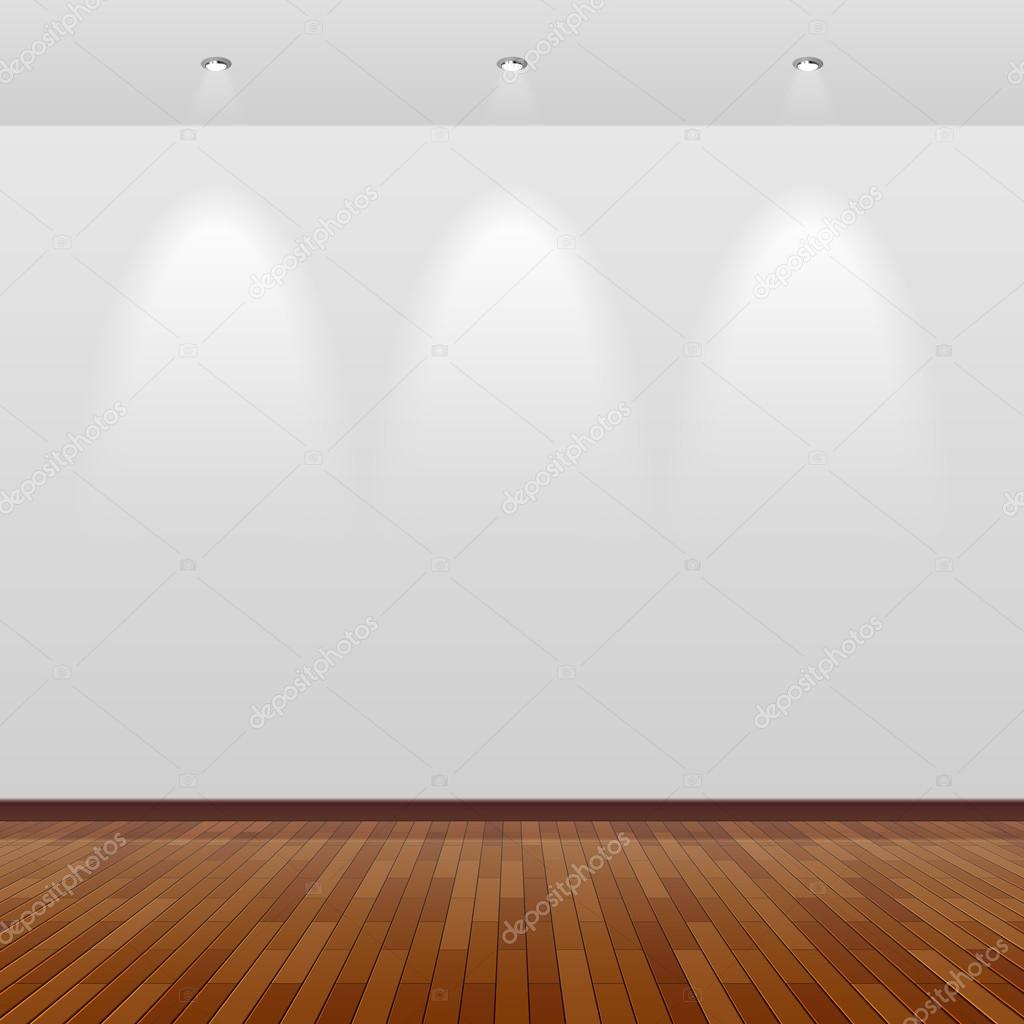 Empty Room With White Wall Stock Vector Alhovik 69938435