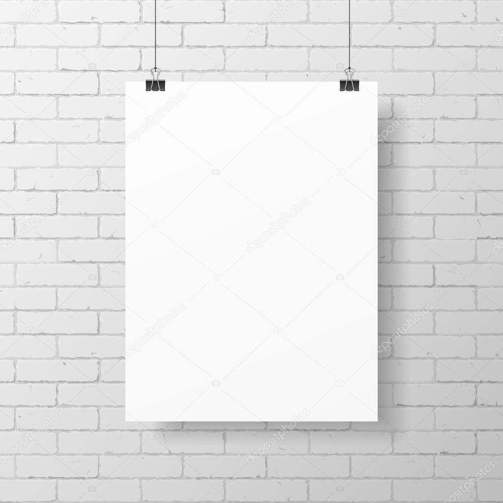 вот плакат на белом фоне формирование
