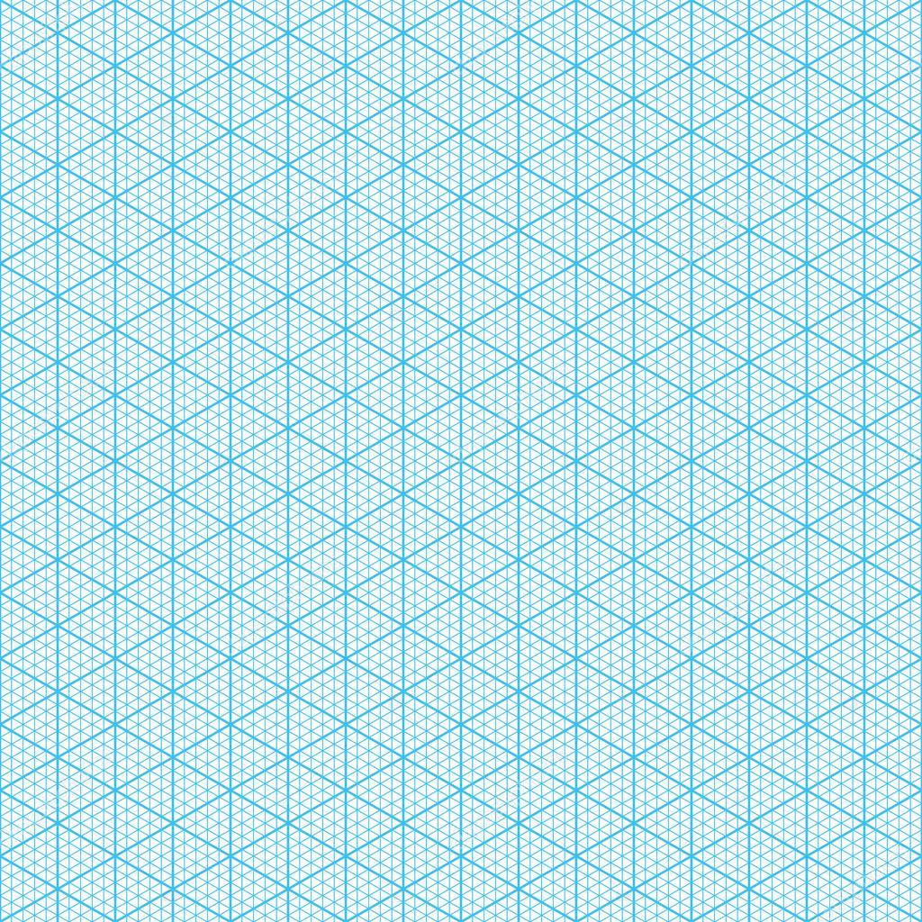 Isometric Graph Paper U2014 Stock Vector
