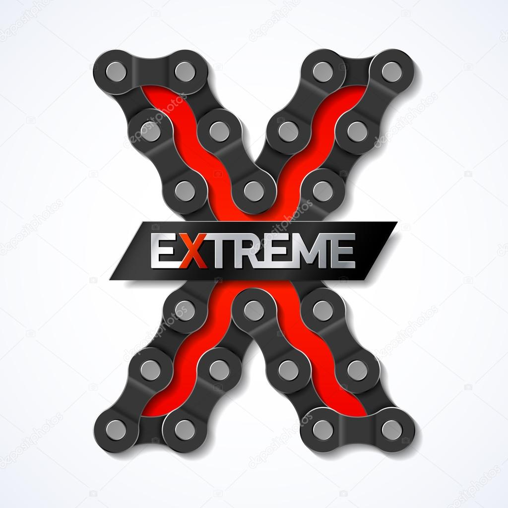 Extreme - bicycle chain