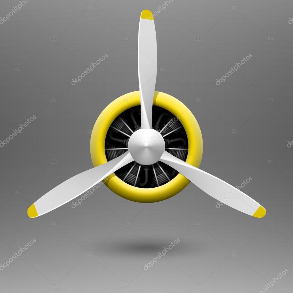 H 233 Lice D Avion Vintage Avec Moteur En 233 Toile Image