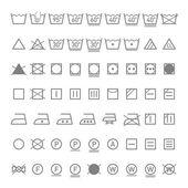 Fényképek mosoda szimbólumok