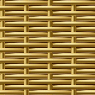 Seamless wicker pattern