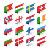 Fotografie Flags of the World, Europe