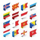 Fotografia Bandiere del mondo, Europa