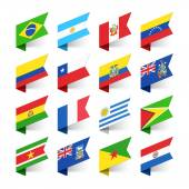 Fotografie Flags of the World, South America