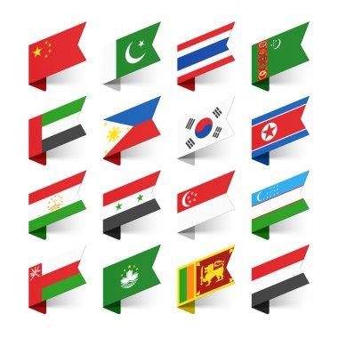 Flags of the World, Asia