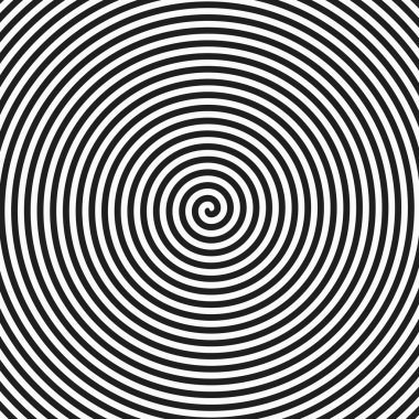 Black and white hypnosis spiral.