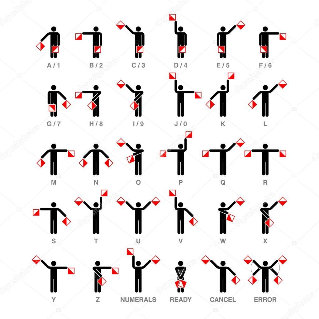 What are the different hand signals in volleyball