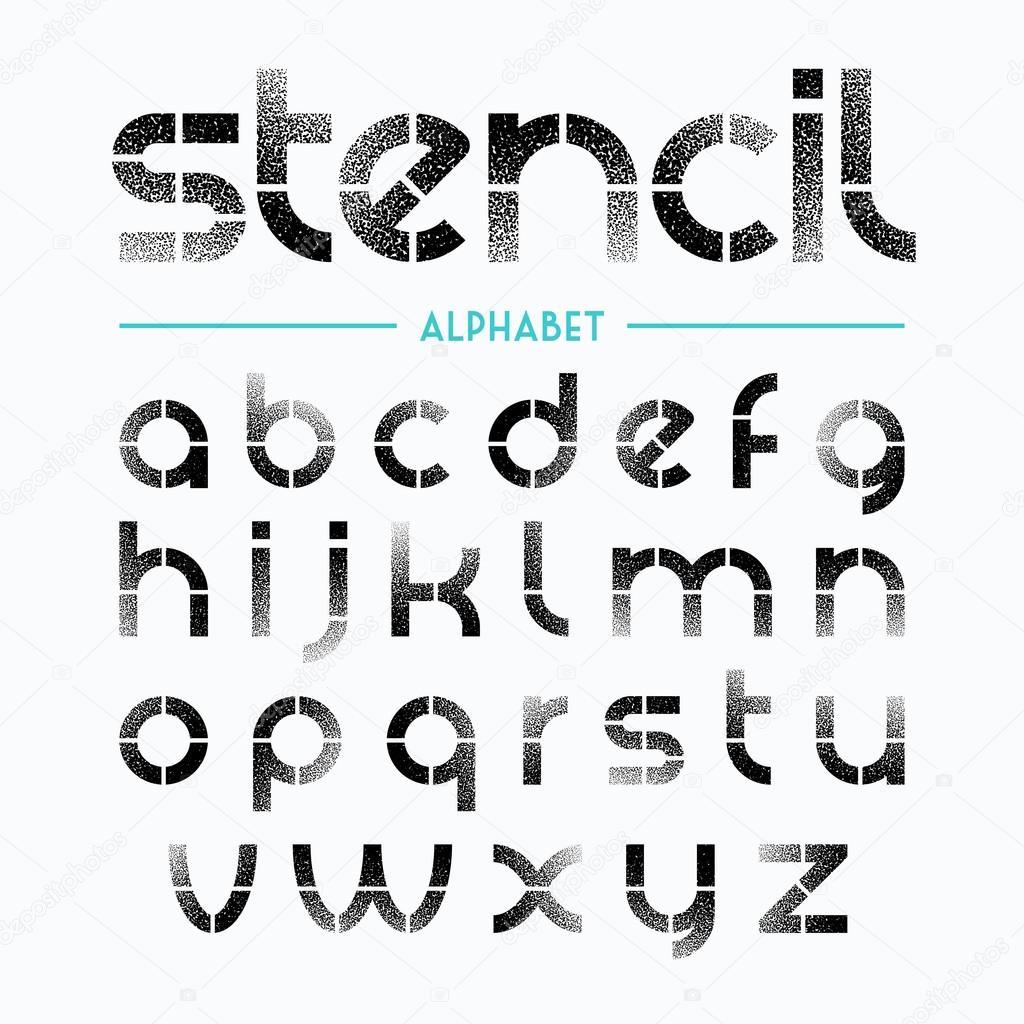 Schablonen Buchstaben Zum Spr En