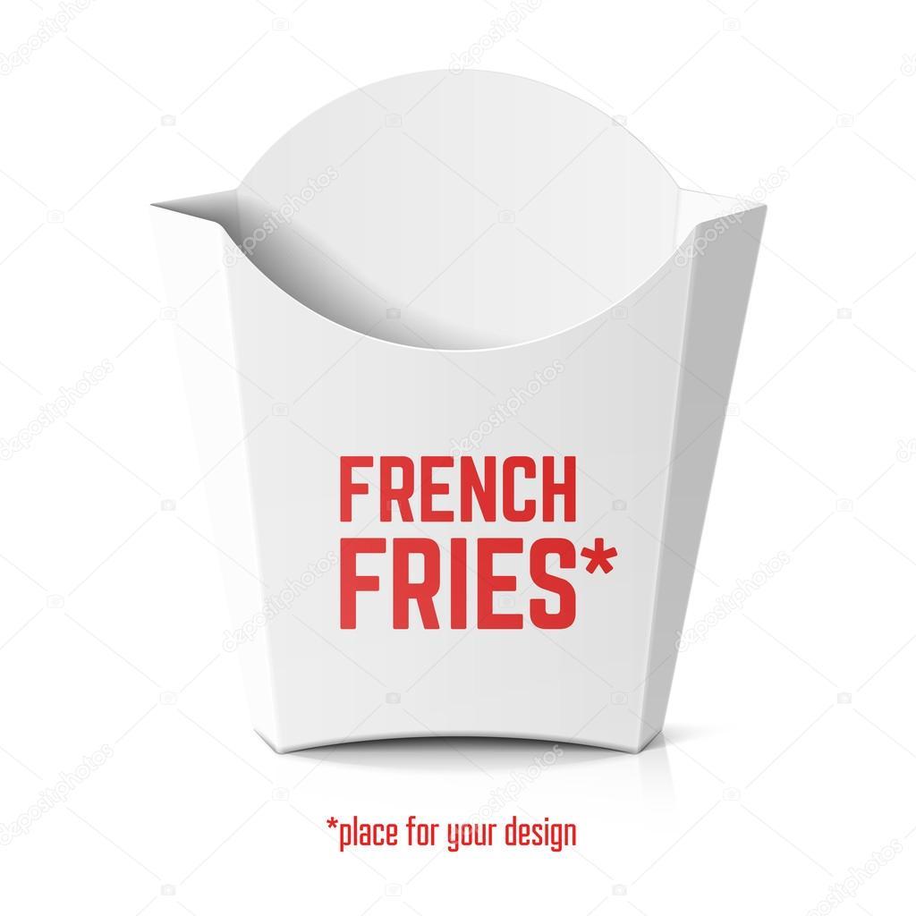 french fries box stock vector alhovik 78418830