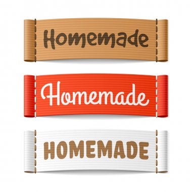 Homemade shopping labels