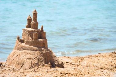 Built House sand castle