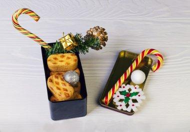 Christmas composition food photo