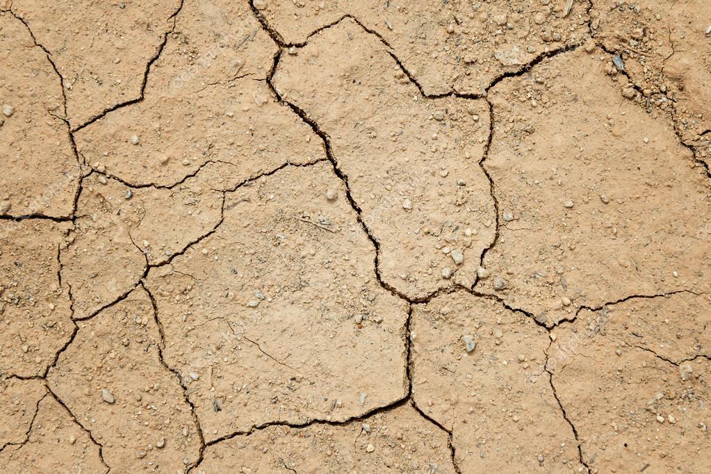 tierra seca agrietada llenando el marco como telón de fondo — Fotos ...