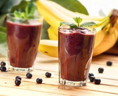 Acai Juice, super fruit smoothie