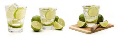 Mojito drinks with lime