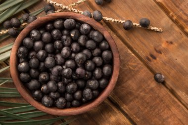 The amazon acai fruit