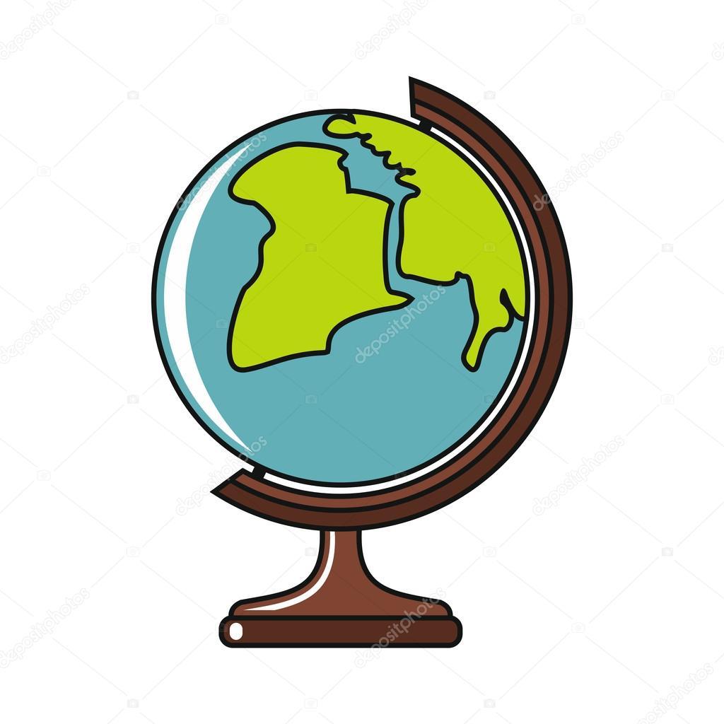 Výsledek obrázku pro zeměkoule kreslená