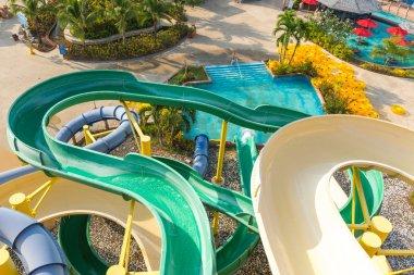Water park at Phuket island Thailand