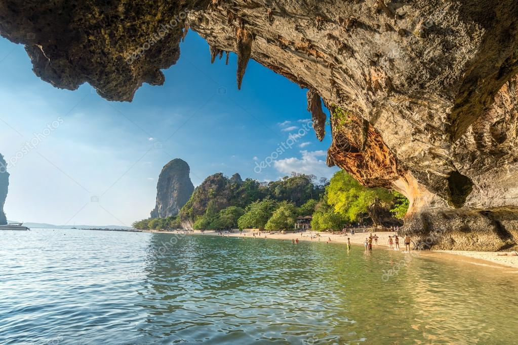 Phranang cave at Raylay Railay Beach