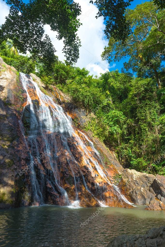 Na Muang Waterfall ,Thailand