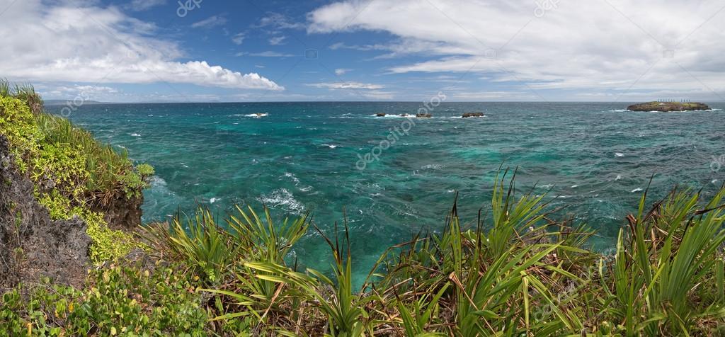 Crystal Cove small island near Boracay island