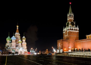 Moscow Red Square, St Basil Temple
