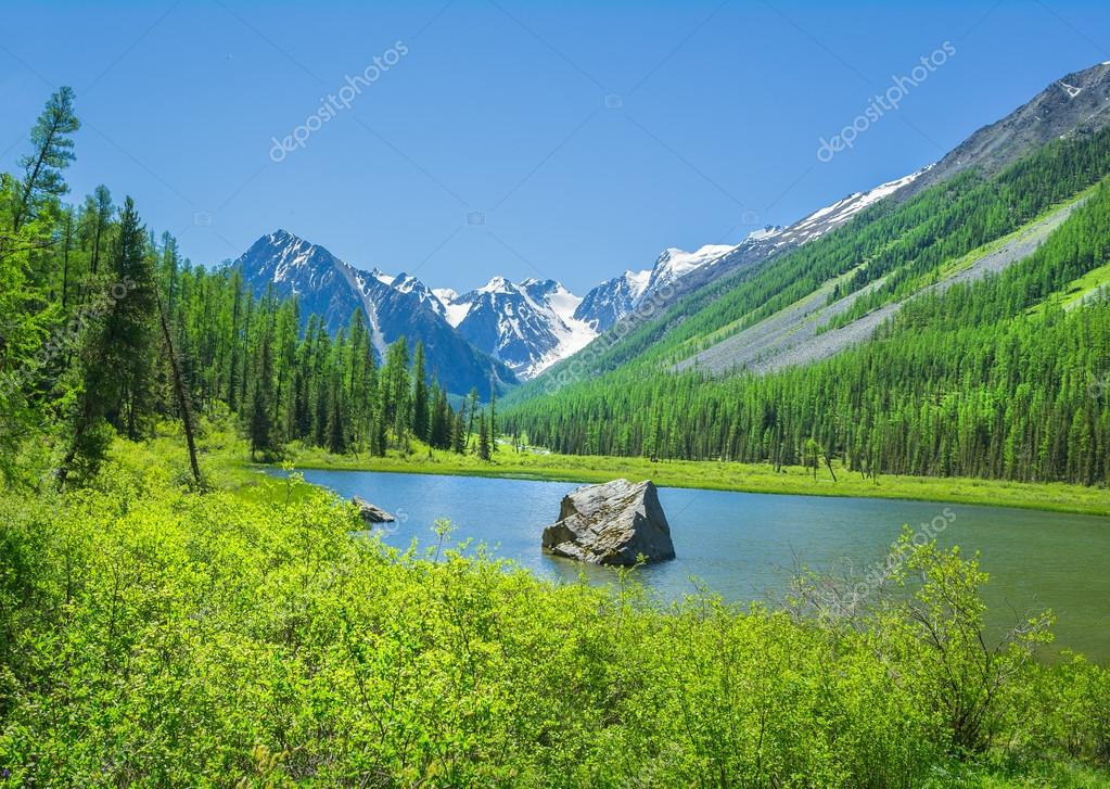 Russian Altai mountain