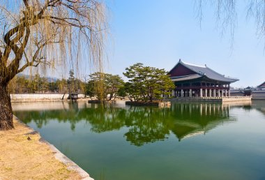 View landsaft from  Emperor Kyoungbok palace