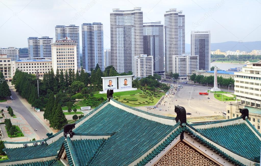 capitale pyongyang della corea del nord foto stock