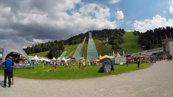 Groe Olympiaschanze Garmisch-Partenkirchen.