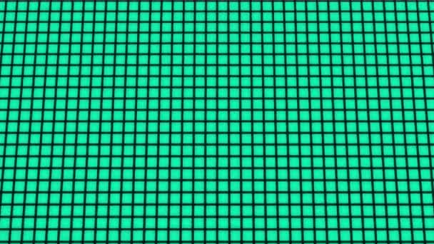 Bulgaria Flag animated in pixel grid style technology background