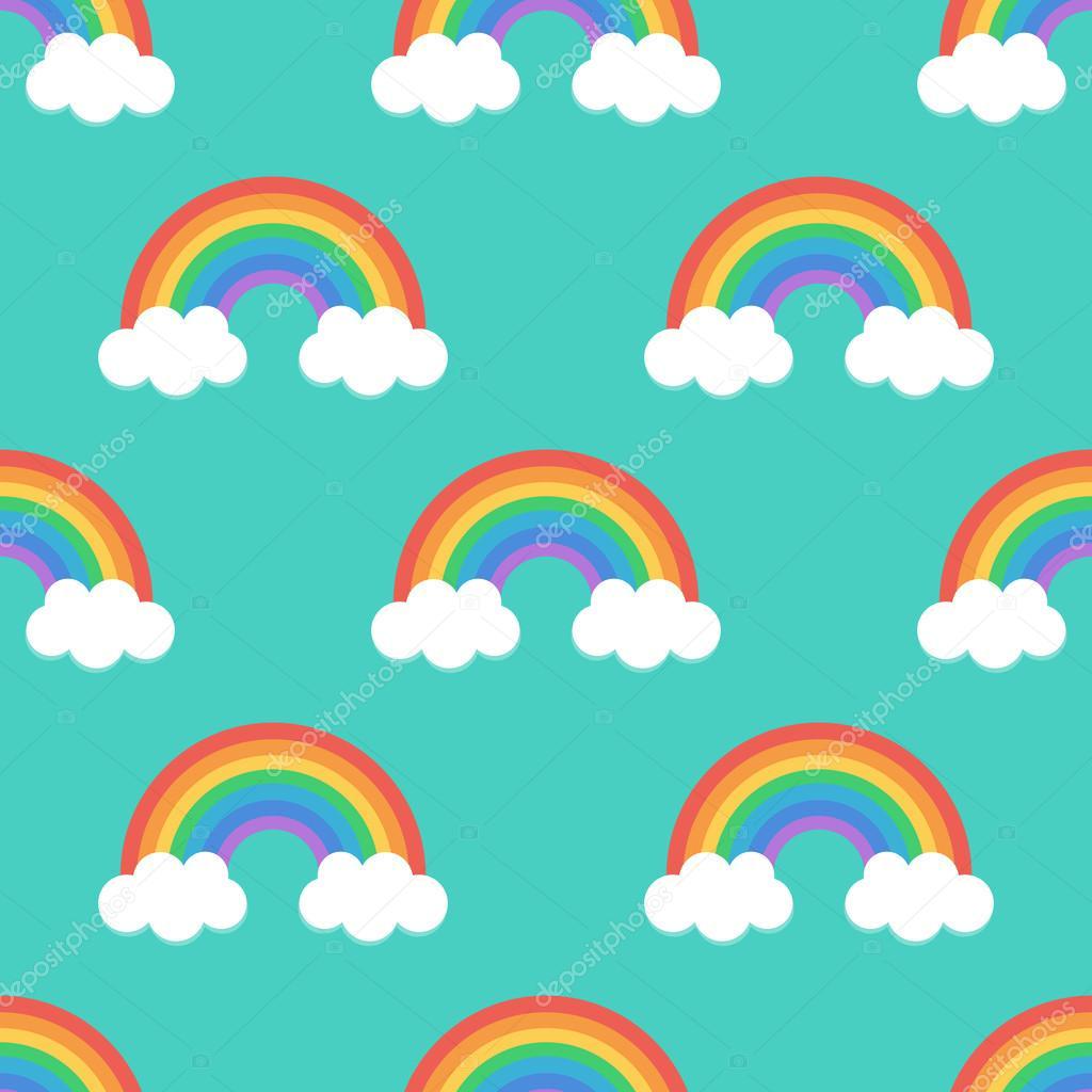 Fotos con fondos de arcoiris