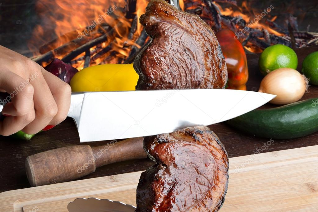 Picanha brazilian barbecue