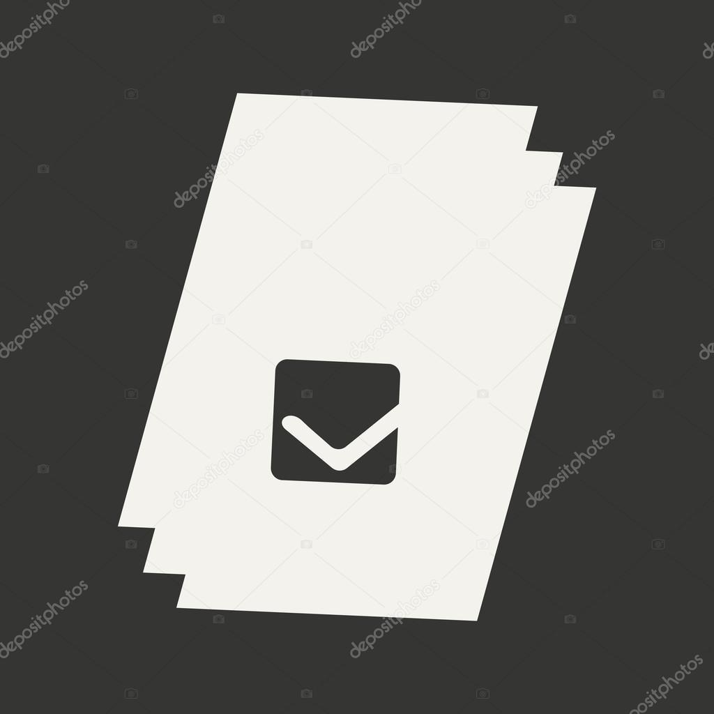 Wohnung In Schwarz Weiß Mobile Bewerbungsunterlagen Stockvektor