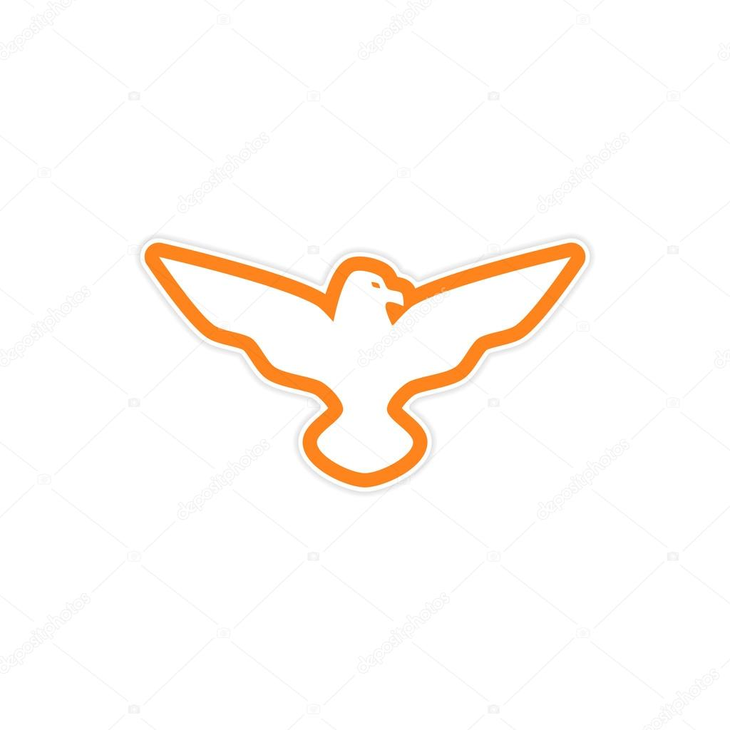 sticker eagle wings logo premium vector in adobe illustrator ai ai format encapsulated postscript eps eps format sticker eagle wings logo premium vector