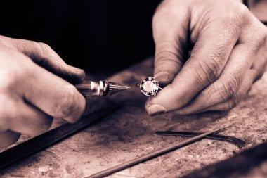 Man Repairing ring