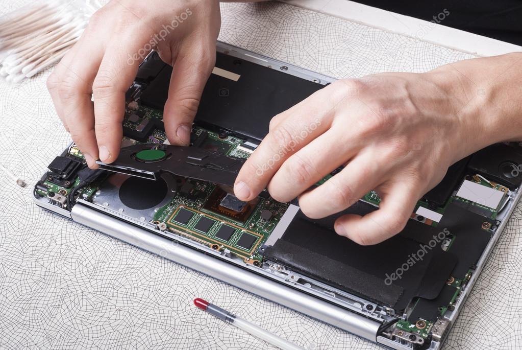 master laptop repairs — Stock Photo © mkuchina #105002834