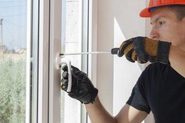 installation and repair of plastic windows