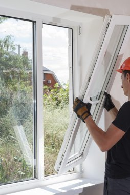 installation and repair of plastic windows