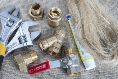 plumbing fittings and tools