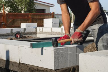 aerated concrete masonry