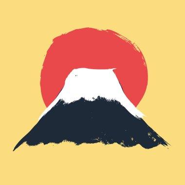 Mt. Fuji volcano icon