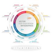 Infografika vektorové ilustrace